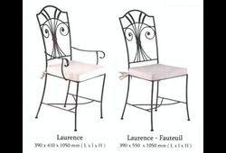 Chaise et fauteuil Laurence